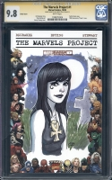 Marvels Project #1 / Death by Chrissie Zullo, Comic Art