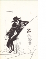 Alex Toth Zorro sketch (1) Comic Art