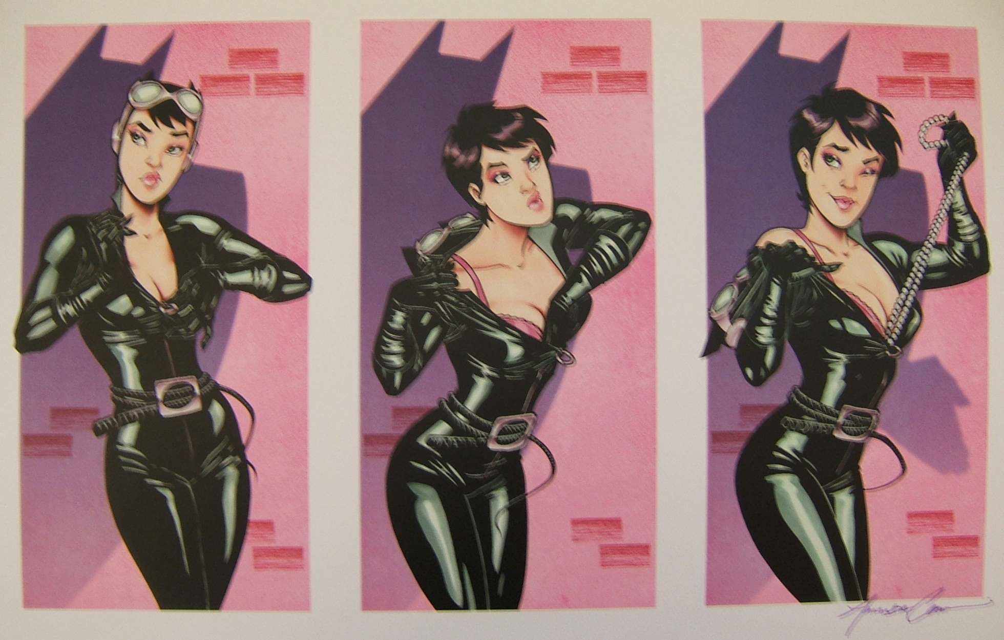 Sneeky Selina-Conner Comic Art