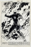 Daredevil #232 Pg 30, David Mazzucchelli, Comic Art