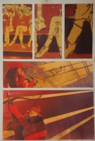 Elektra Assassin #7, Bill Sienkiewicz, Comic Art