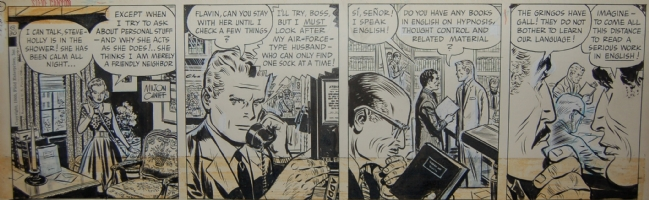 Steve Canyon, Milton Caniff Comic Art