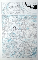 The Manhattan Projects #5 Pg 22, Comic Art