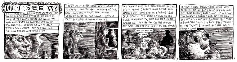 Did I See It, Lynda Barry, Comic Art