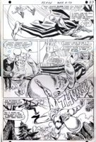 Flash #177 pg 17 Classic Big Head! SOLD! Comic Art
