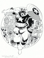 Kevin Maguire Captain America Comic Art