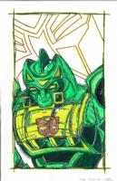 Autobot Springer Colors, Comic Art