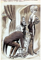 Bill Ward Cartoon Comic Art
