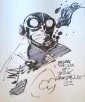 LOBSTER JOHNSON BY JASON ARMSTRONG Comic Art