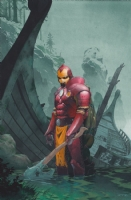 Thor 609 Variant Cover (Ribic) Comic Art