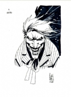 Joker Comic Art