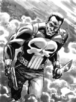Punisher by David Wachter Comic Art