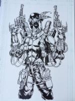 Deadpool -Steam King- by Free Isabelo Comic Art