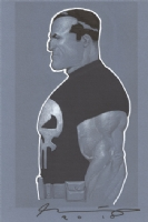 The Punisher by Ariel Olivetti NYCC 2010 Comic Art