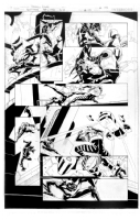 Batman Beyond 2.0 #5 / Universe #3 page 09 by Thony Silas - 1st Appearance of REWIRE Comic Art