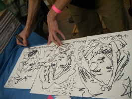 Massimiliano Frezzato show Comic Art