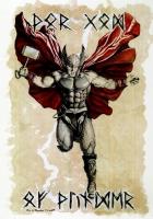 Thor  Fury  Original Painting by Eric W. Meador Comic Art