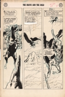 Joe Kubert-Brave and Bold 19 - Viking Prince on a flying horse! Comic Art