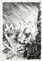 Bernie Wrightson - American Vampire 2 Variant Cover Comic Art