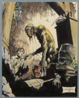 Bernie Wrightson RBCC Cover Comic Art