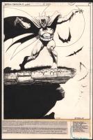 Jim Starlin - Batman Family #17 (1978) Splash/Pinup - Classic Scary Batman  Comic Art