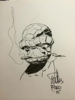 The Thing (Ben Grimm) - Lee Weeks Comic Art
