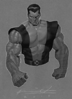 Colossus by Ariel Olivetti Comic Art