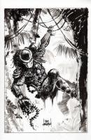 Predator Commission, Comic Art
