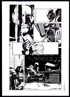 Scalped #1 Page 10 - First Lincoln Red Crow by R.M. Guera, Comic Art