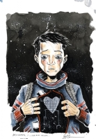 Descender 1 Jeff Lemire Regular Cover, Comic Art