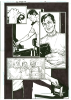 Ex Machina 50 page 48 - Tony Harris, Comic Art