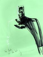 Jock Batman SDCC Sketch, Comic Art