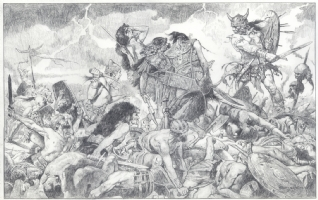 Conan the Barbarian by Sanjulian Comic Art