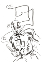Daredevil by David Mack, Comic Art