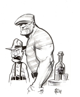 Franky and The Goon by Eric Powell, Comic Art