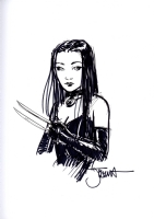 X-23 by Joshua Middleton, Comic Art