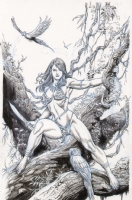 Jungle Girl (Supercon '07) Comic Art