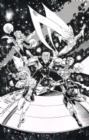 Guardians of the Galaxy 1992 tpb cover Comic Art