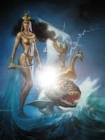 Boris Vallejo Painting Comic Art