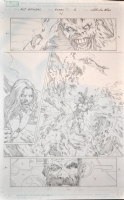 Marvel Zombie: Avengers page 12 Comic Art