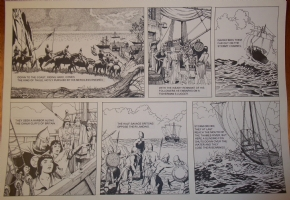 Prince Valiant Comic Art
