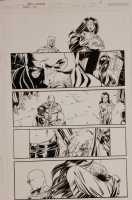 Secret Six 2 pg 21 Comic Art
