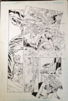 Secret Six 1 pg 9 Knockout and Ragdoll Comic Art