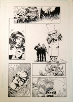 Secret Six 4 pg 16 Secret Six versus Doom Patrol Comic Art