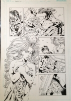 Secret Six 5 pg 6 Aftermath of Deadshot sleeping with Knockout featuring Catman, Scandal and Mad Hatter Comic Art