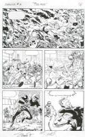 Magnus Robot Fighter #3 page 4 by Art Nichols Comic Art