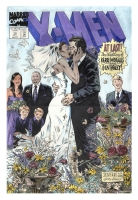 x-men wedding recreation Comic Art