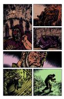 Hand of Glory pg 5 Comic Art