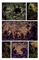Hand of Glory pg 3 Comic Art