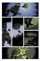 Hand of Glory pg 2 Comic Art